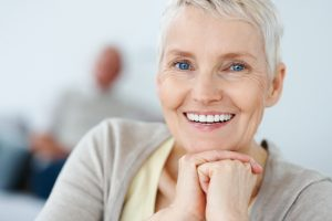 Implants get rid of full dentures
